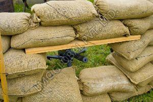 Military Hessian Sand Bag 14