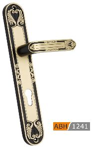 ABH 1241 Brass Mortice Door Handle