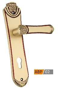 ABP 02 Brass Mortice Door Handle