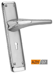 AZH 07 Zinc Mortice Door Handle