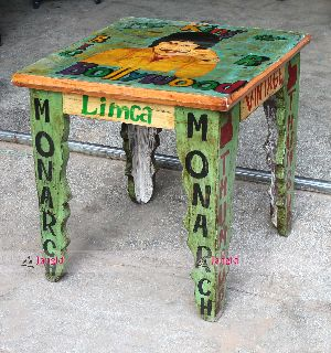 HANDCRAFTED WOODEN TABLE