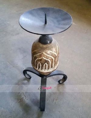 HANDMADE CANDLE STAND