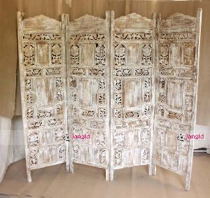 INDIAN WOODEN ROOM DIVIDER