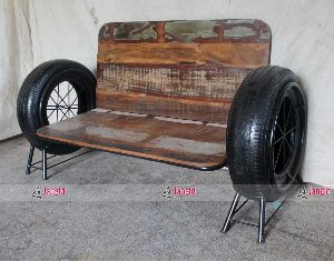 INDUSTRIAL RECLAIMED WOOD FURNITURE