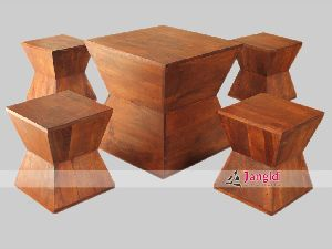 MANGO WOOD COFFEE TABLE SET