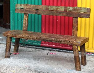 RECYCLE WOODEN BENCH