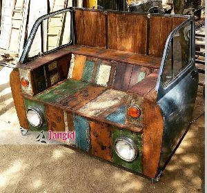 VINTAGE INDUSTRIAL CAR SOFA FOR HOTEL