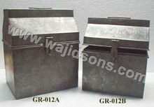 seed storage metal box
