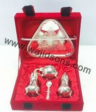 Silver Plated Tray Sets