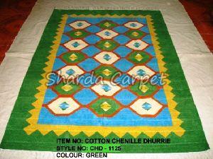 Cotton Chenille Dhurries 09