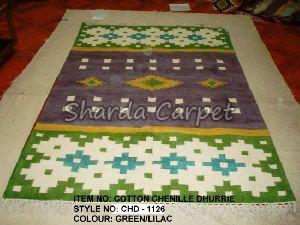 Cotton Chenille Dhurries 10