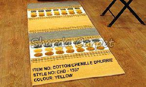 Cotton Chenille Dhurries 11