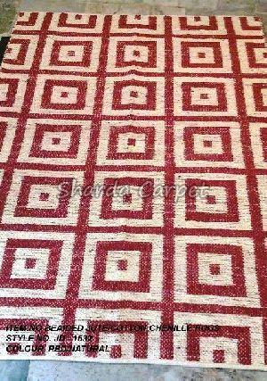 Beaided Jute  Cotton Chenille Rugs