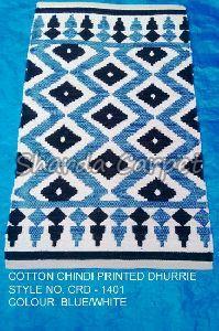 Cotton Chindi Printed Dhurries