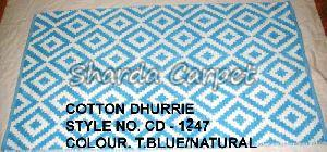 Cotton Dhurries01