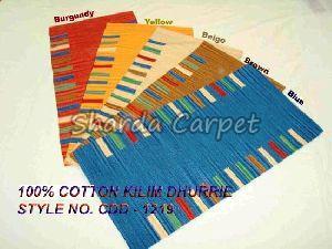 Cotton Kilim Dhurries 02
