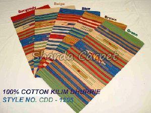 Cotton Kilim Dhurries 03