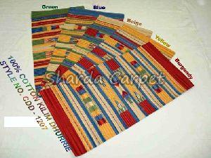 Cotton Kilim Dhurries 05