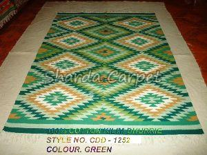 Cotton Kilim Dhurries 13