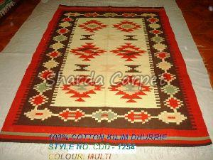 Cotton Kilim Dhurries 14