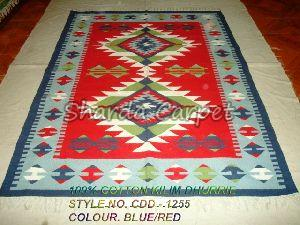 Cotton Kilim Dhurries 15