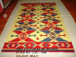 Cotton Kilim Dhurries 16