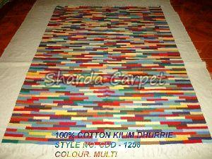 Cotton Kilim Dhurries 17