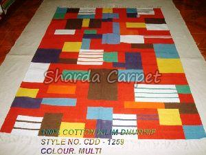 Cotton Kilim Dhurries 18
