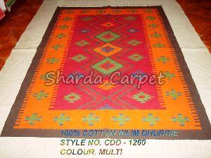 Cotton Kilim Dhurries 19