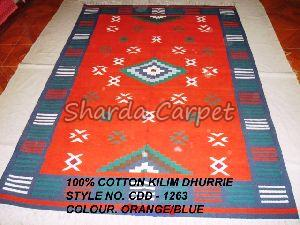 Cotton Kilim Dhurries 20