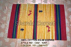 Cotton Kilim Dhurries 21