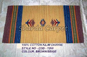 Cotton Kilim Dhurries 22