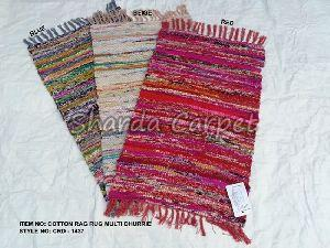 Cotton Rag Rug Dhurries 01