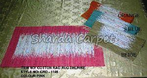 Cotton Rag Rug Dhurries 02