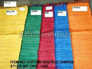 Cotton Rag Rug Dhurries 03