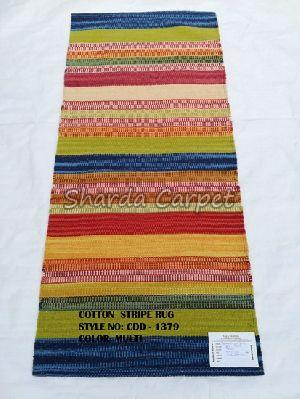 Cotton Striped Rugs 01