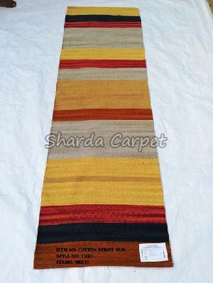 Cotton Striped Rugs 03