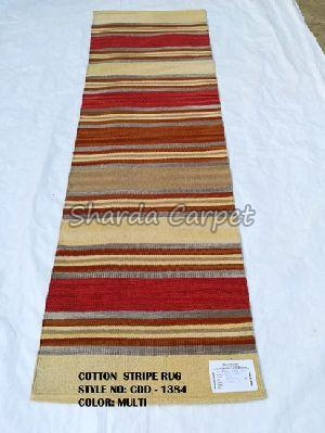 Cotton Striped Rugs 05