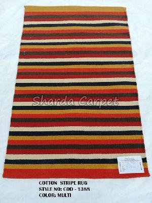 Cotton Striped Rugs 08
