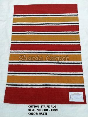 Cotton Striped Rugs 09