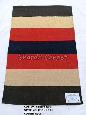 Cotton Striped Rugs 10