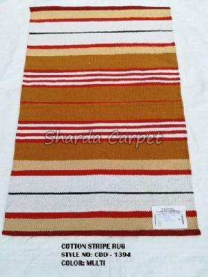 Cotton Striped Rugs 12