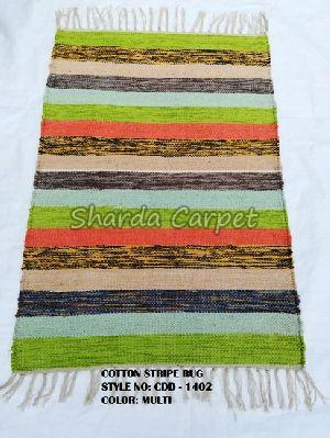 Cotton Striped Rugs 14