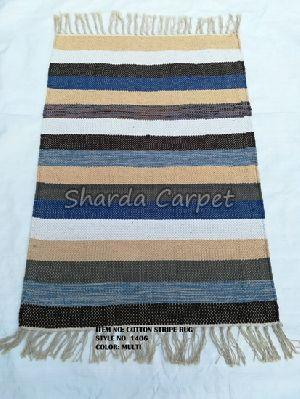 Cotton Striped Rugs 16