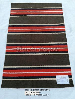 Cotton Striped Rugs 17