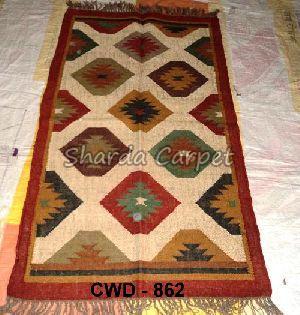 CWD - 862- Woolen Kilim Rug