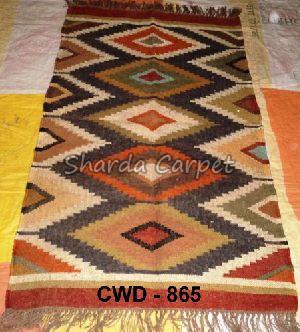 CWD - 865- Woolen Kilim Rug