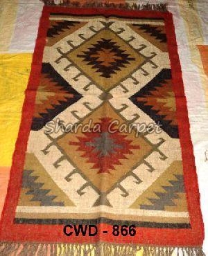 CWD - 866 - Woolen Kilim Rug