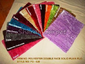 Double Face Polyester Rugs 01