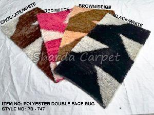 Double Face Polyester Rugs 08